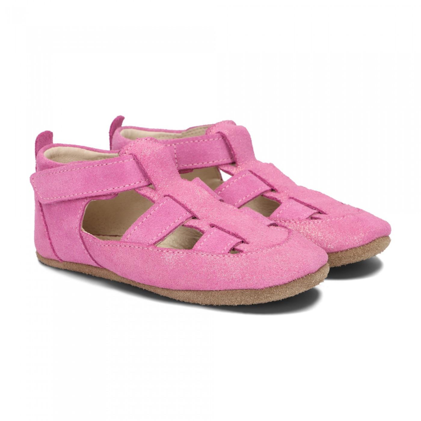 Pantofelki Barefoot różowy pyłek