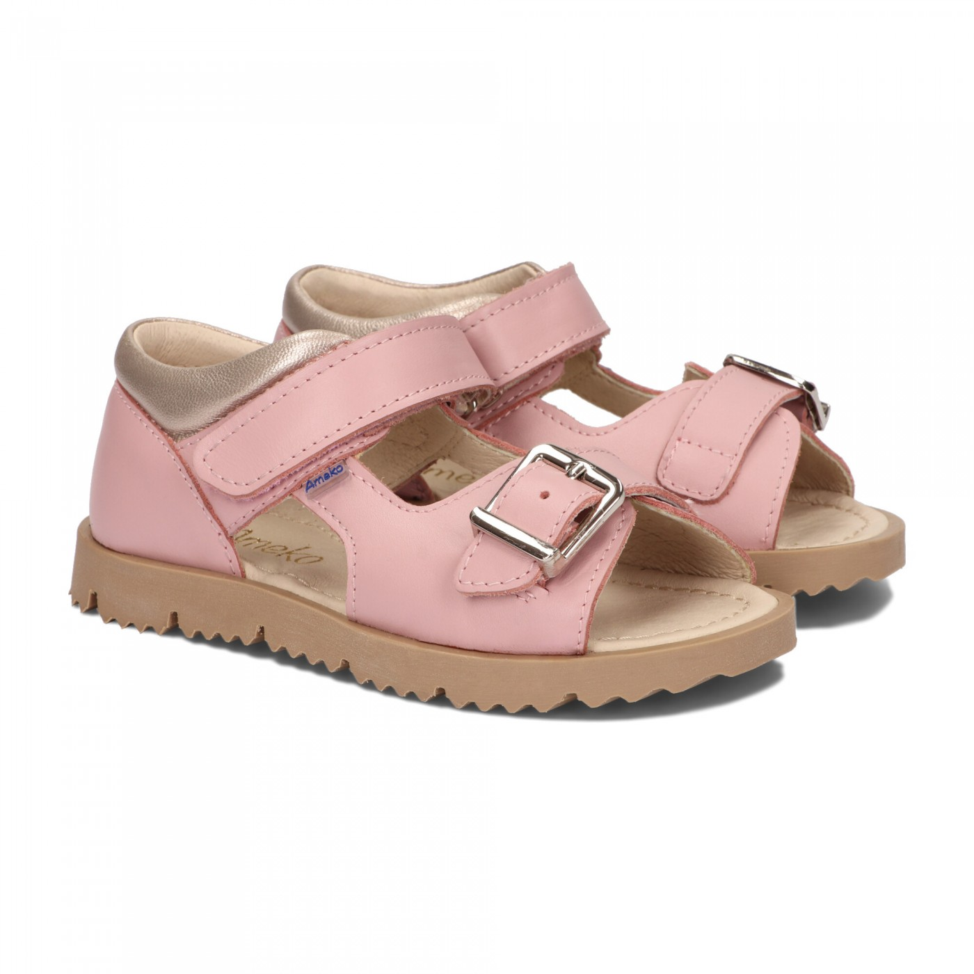 Sandały dziecięce-Clip-Różowe