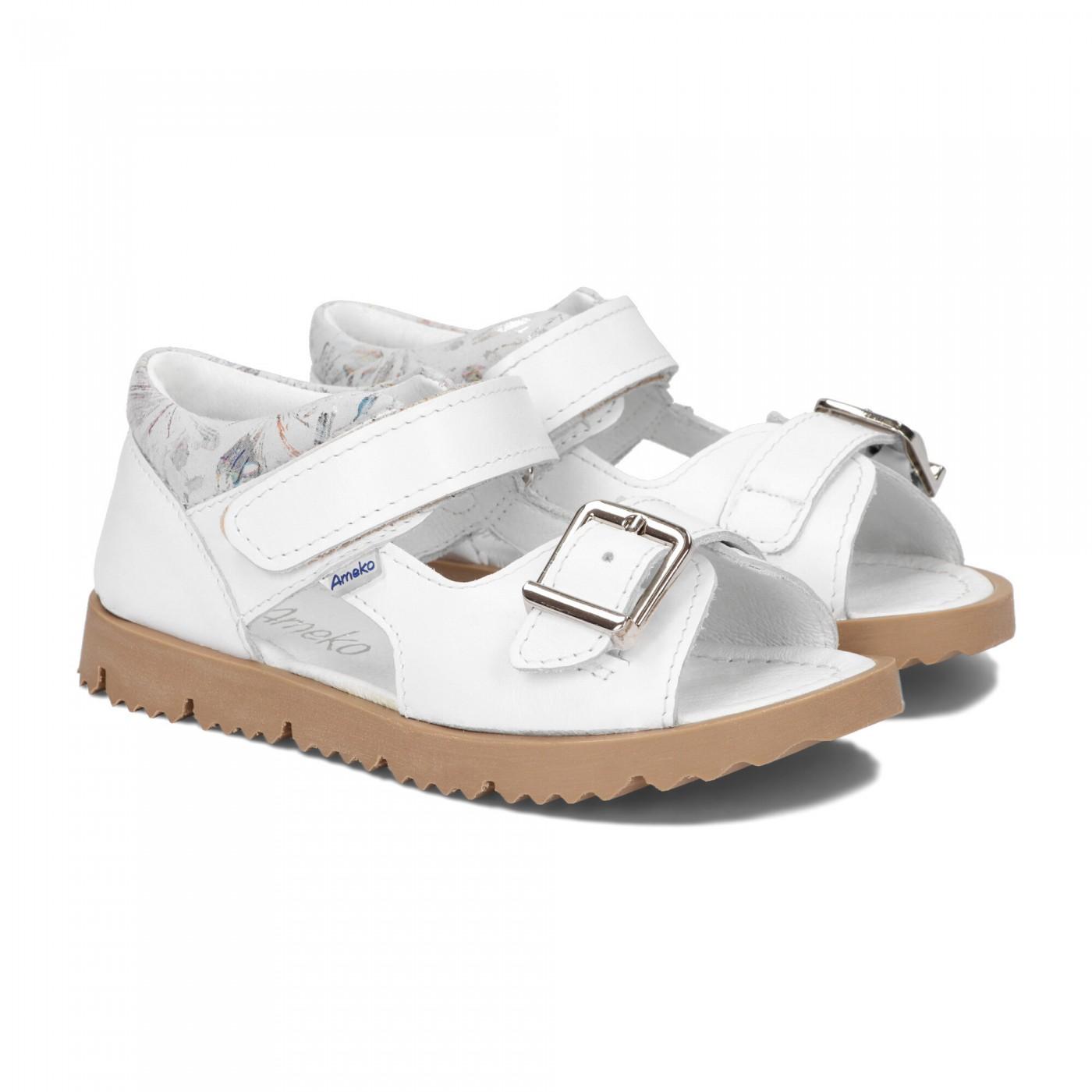 Sandały dziecięce-Clip-Białe