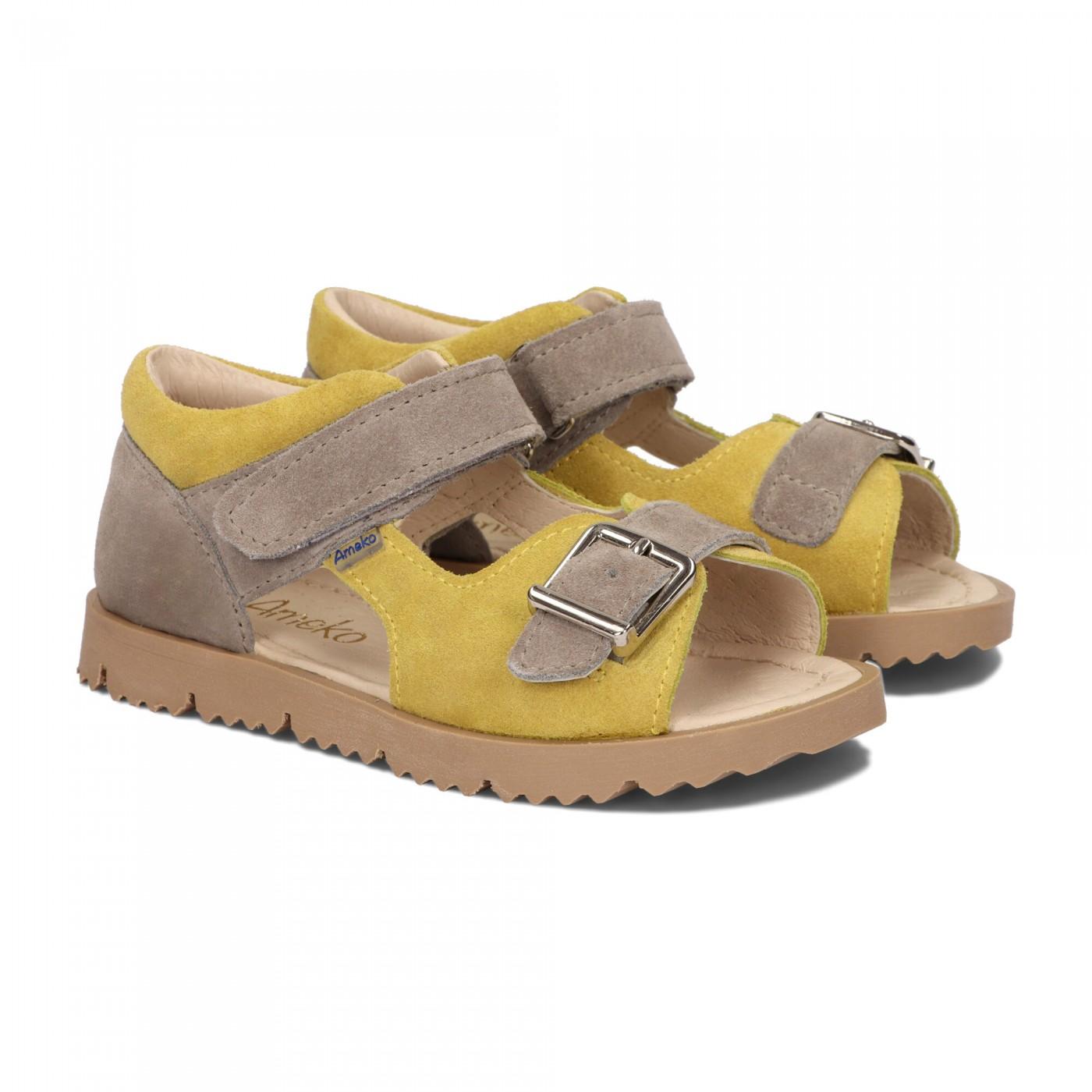 Sandały dziecięce-Clip-Yellow