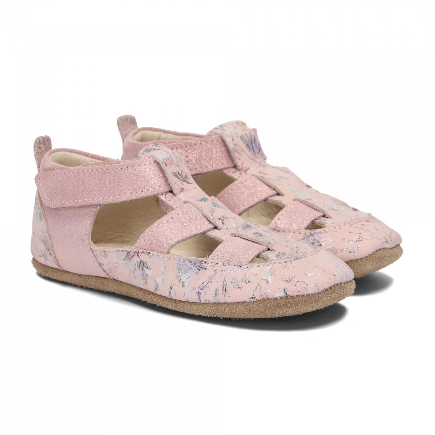 Pantofelki Barefoot w kwiaty