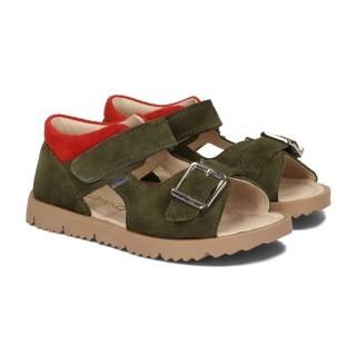 Sandały dziecięce-Clip-Khaki