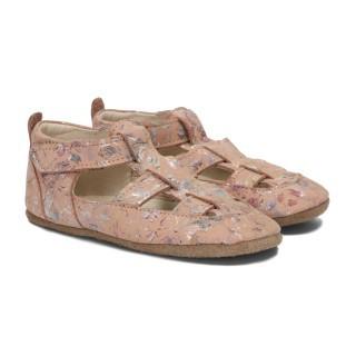 Pantofelki Barefoot brzoskwinia kwiat